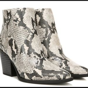 Soul Naturalizer Snakeskin Booties